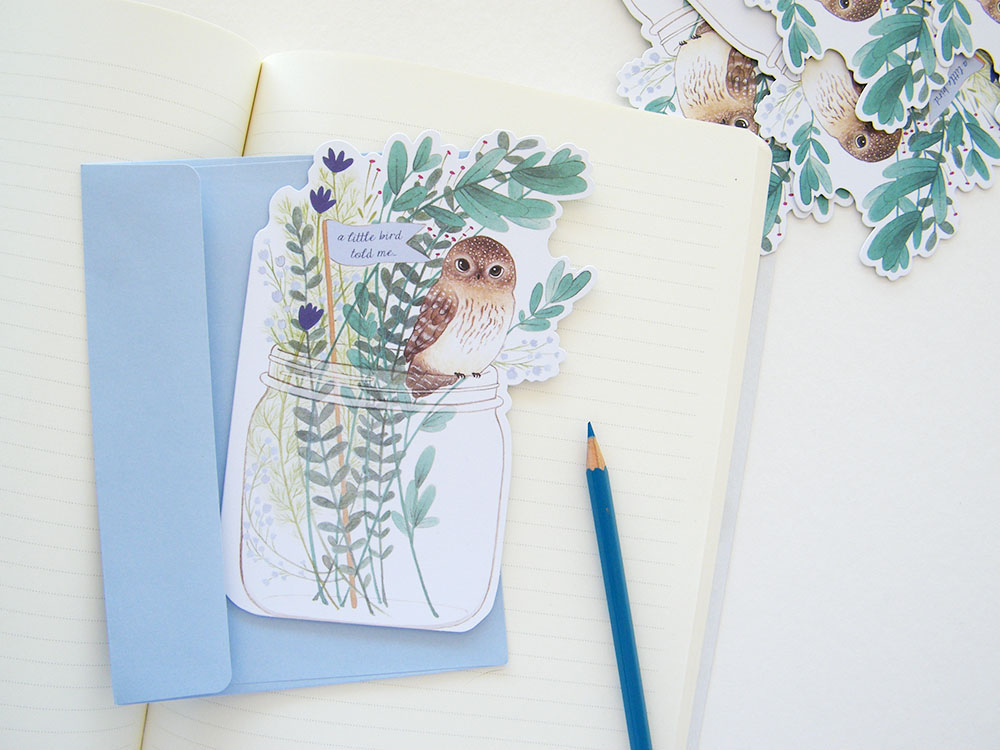 2015 everyday holiday cards madison park greetings on behance a collection of die cut everyday and holiday greeting cards for madison park greetings featuring my watercolor and gouache paintings of adorable little m4hsunfo Images