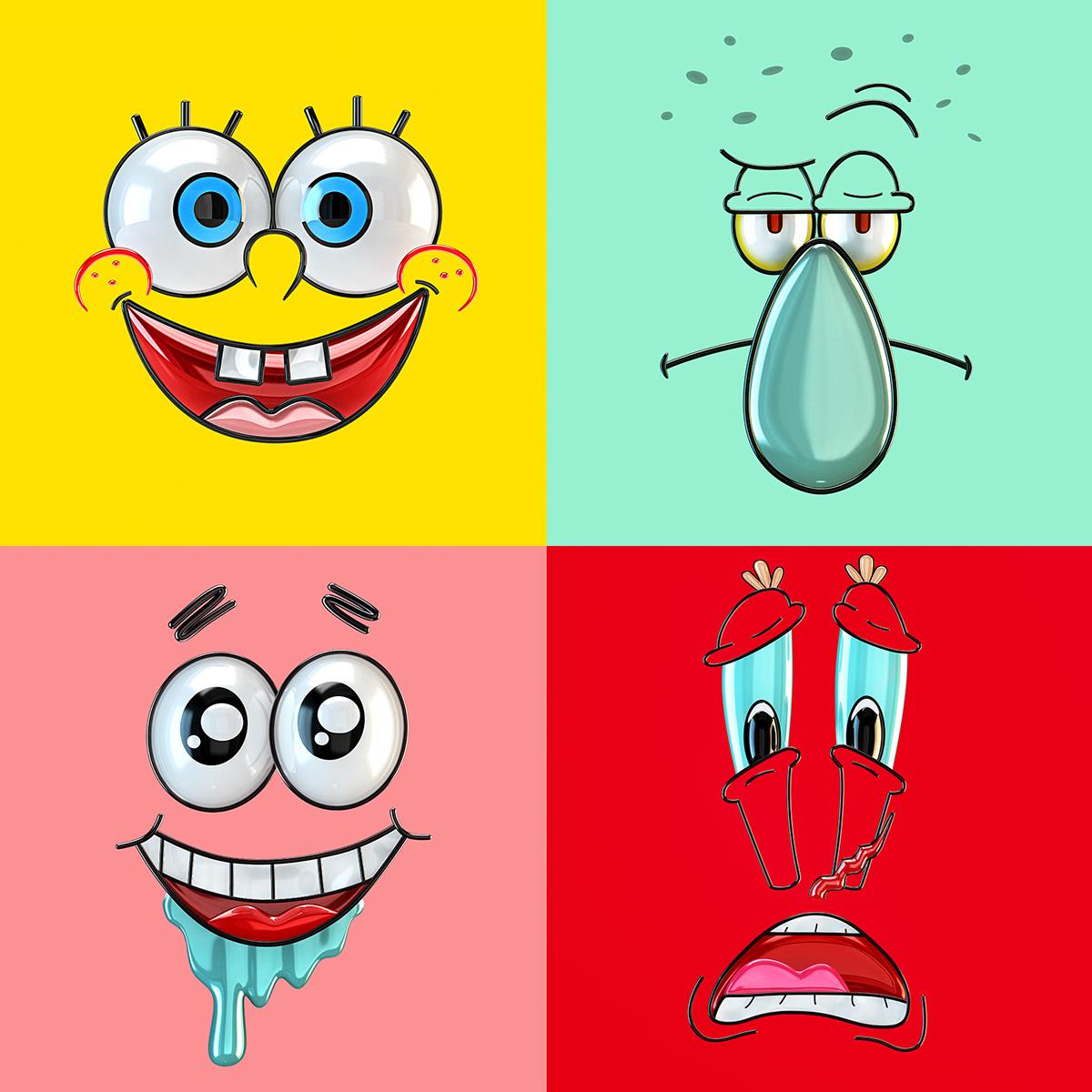 SpongeBob Pop Art on Behance