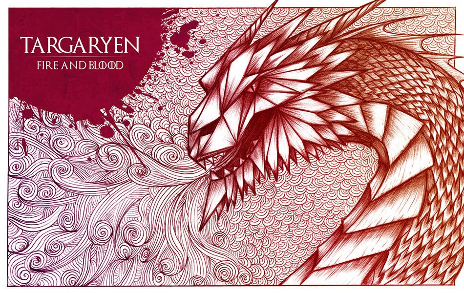 Game of Thrones,lannister,Stark,baratheon,Arryn,BIC pen,wolf,lion,deer,eagle,animals,poster,postermovie,got