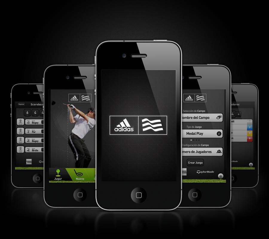golf adidas mobile app