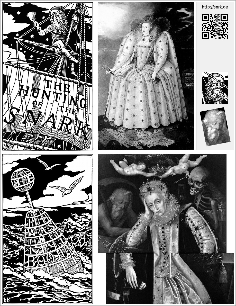 TheHuntingOfTheSnark HenryHoliday lewiscarroll snark Allusions literature childrensbook children's book referential art lewis carroll Henry Holiday 150th anniversary vintage hidden images Nonsense