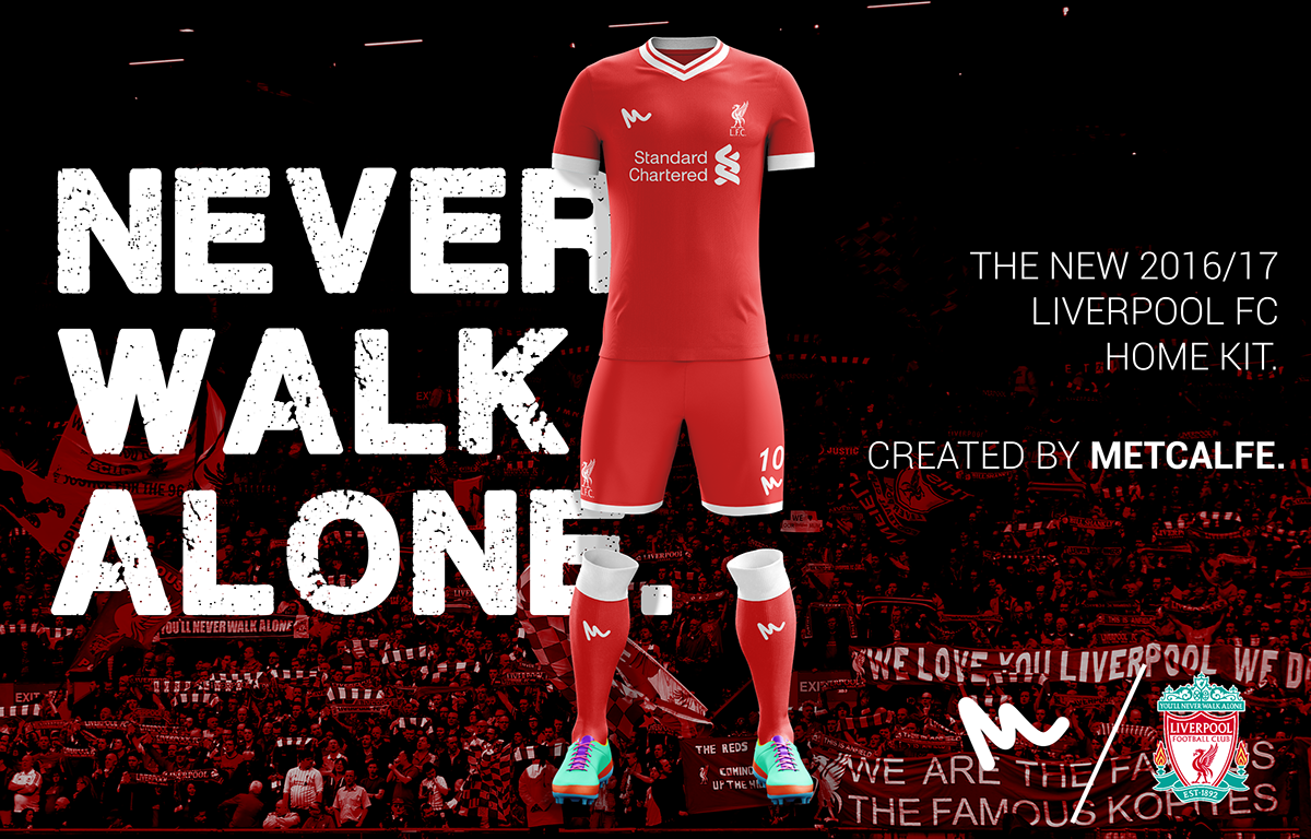 half off 95ad8 d4260 2016 Liverpool Concept Kits by Metcalfe on Behance