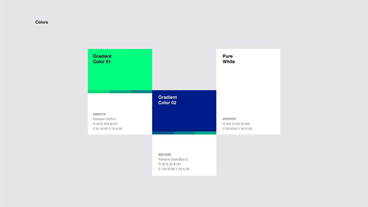 branding  corporate design identity logo Stationery Technology
