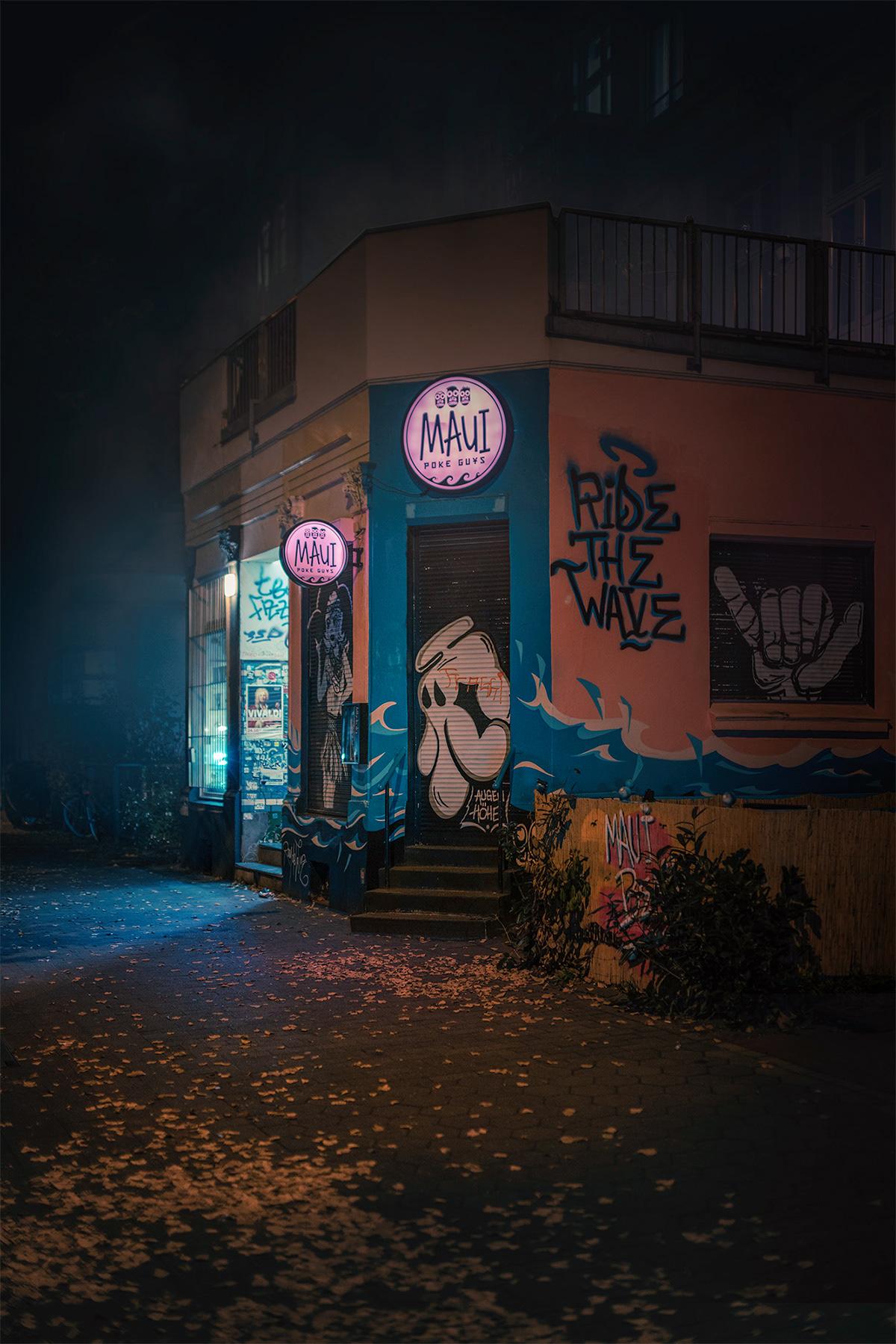 city color dark light lightroom night Photography  Sony Street Urban