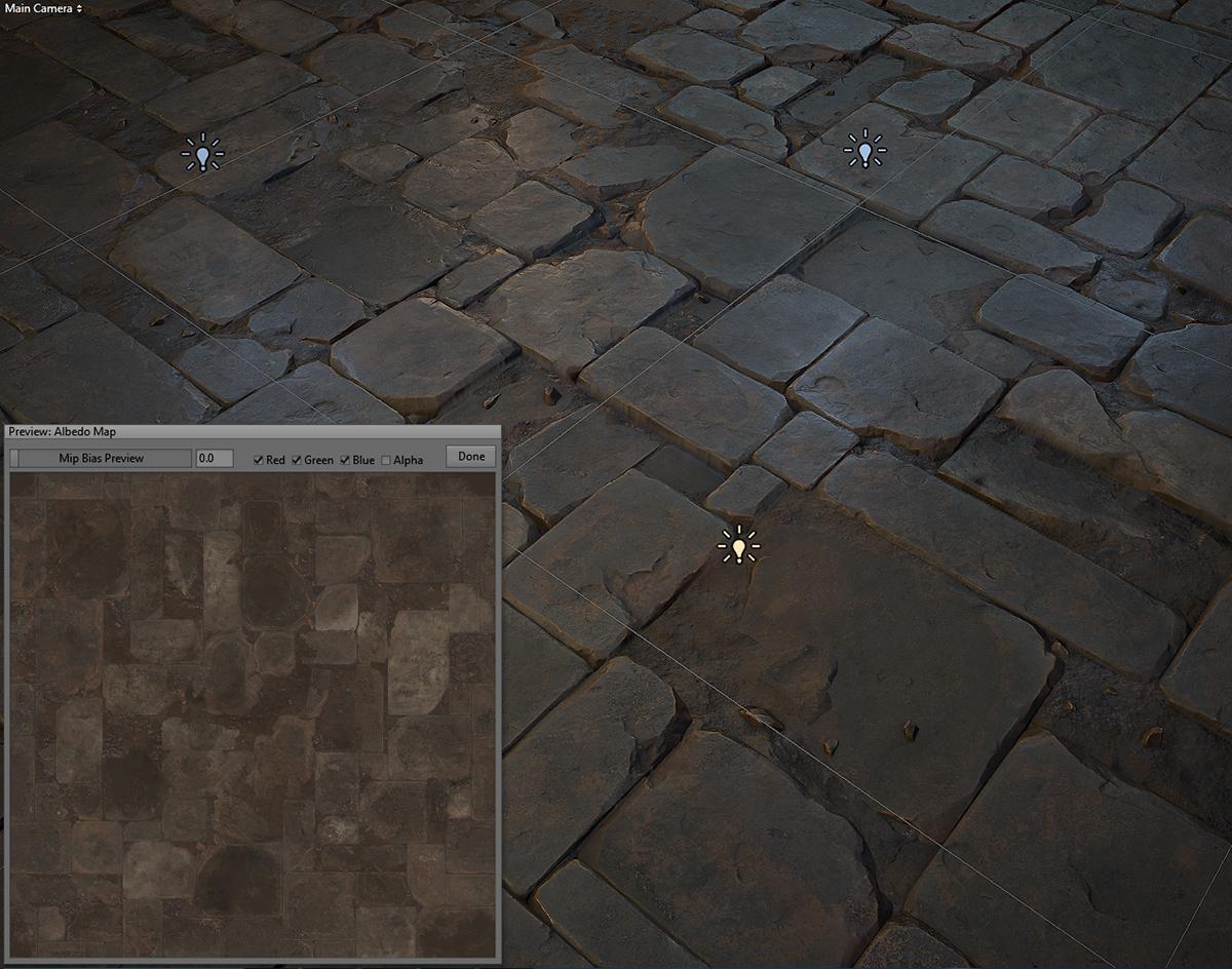 Stone Floor Tile 03 Realtime On Behance