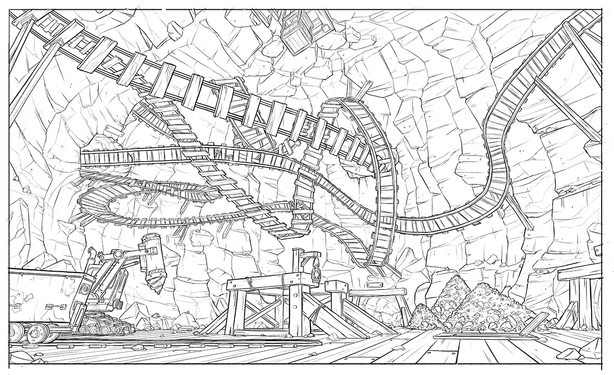 conceptart digitalart setdesig animation layout