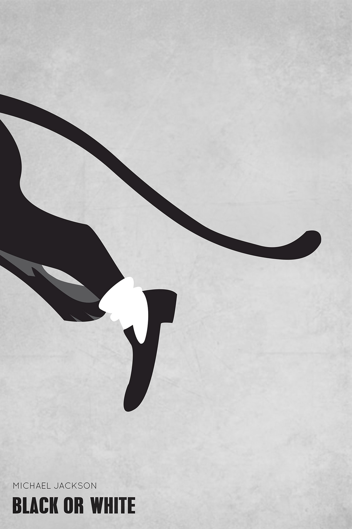 The King Of Pop Minimalist Poster Series