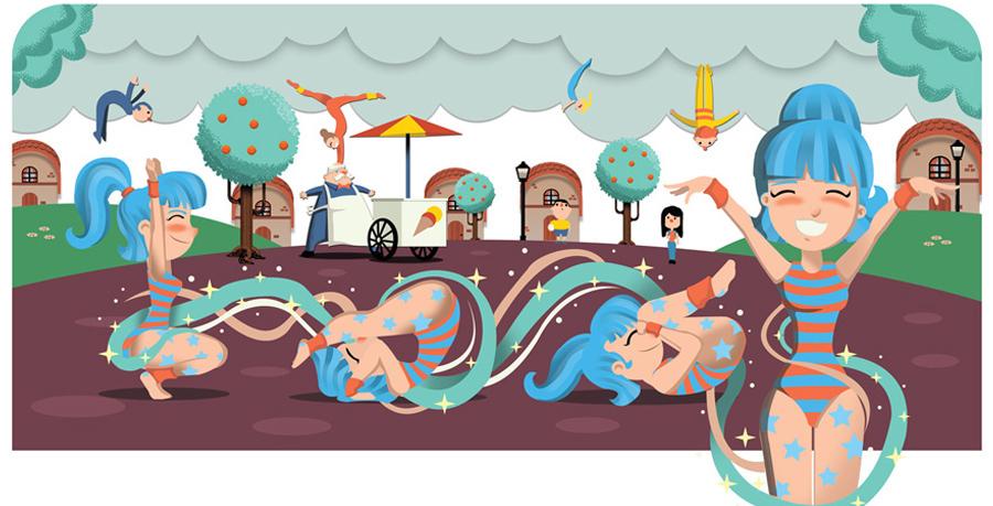 children book fantasy tale TALES Circus animals