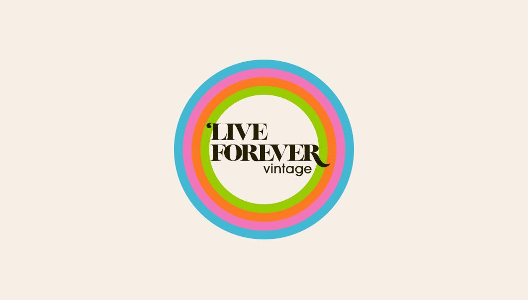 Live Forever Vintage logo