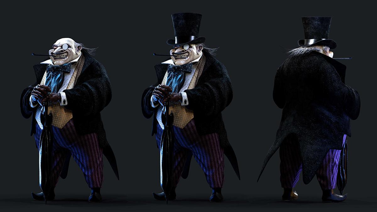 3D batman burton comics dc gotham joker marvel Movies Pinguin