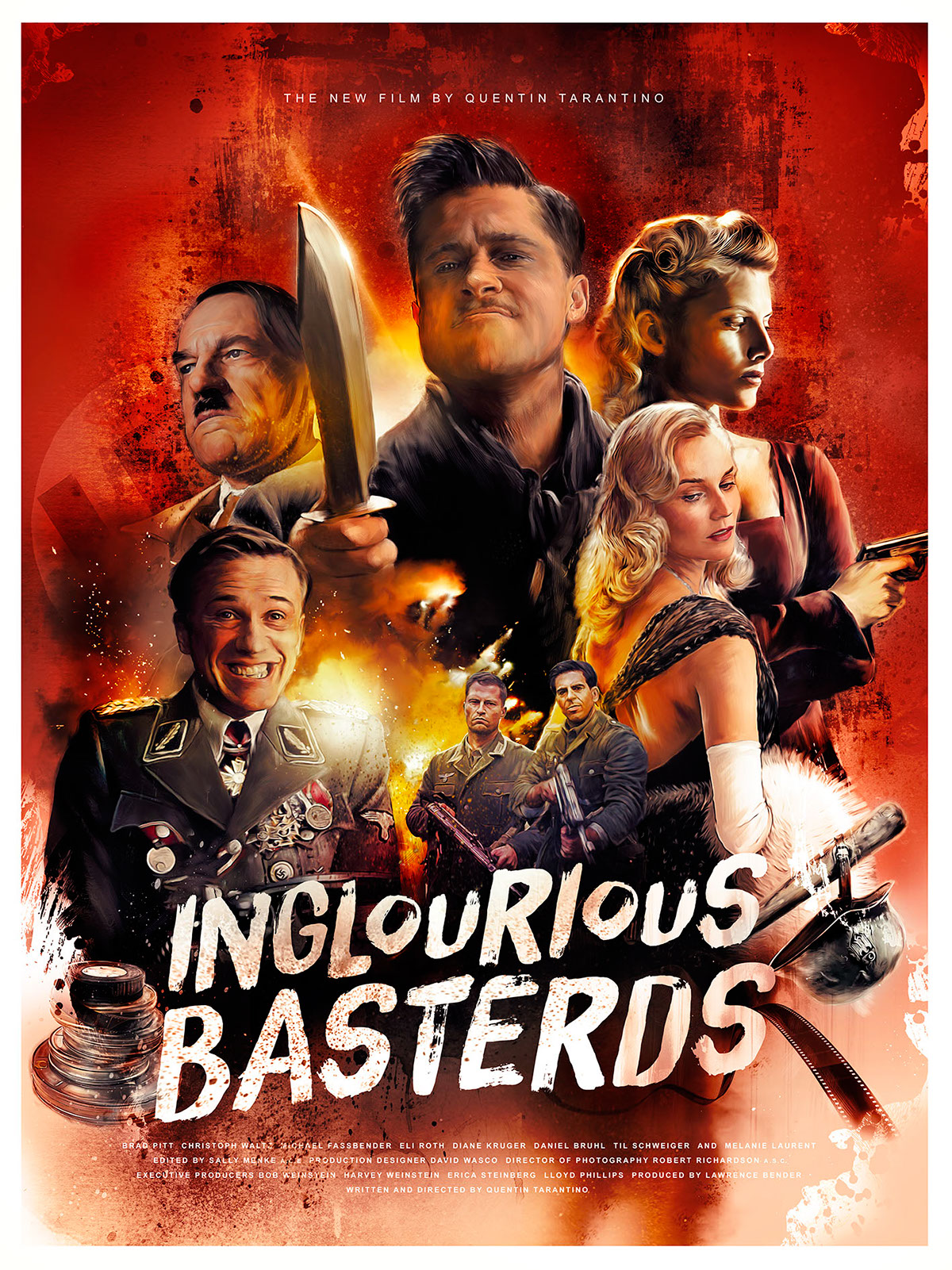 Inglourious Basterds on Behance