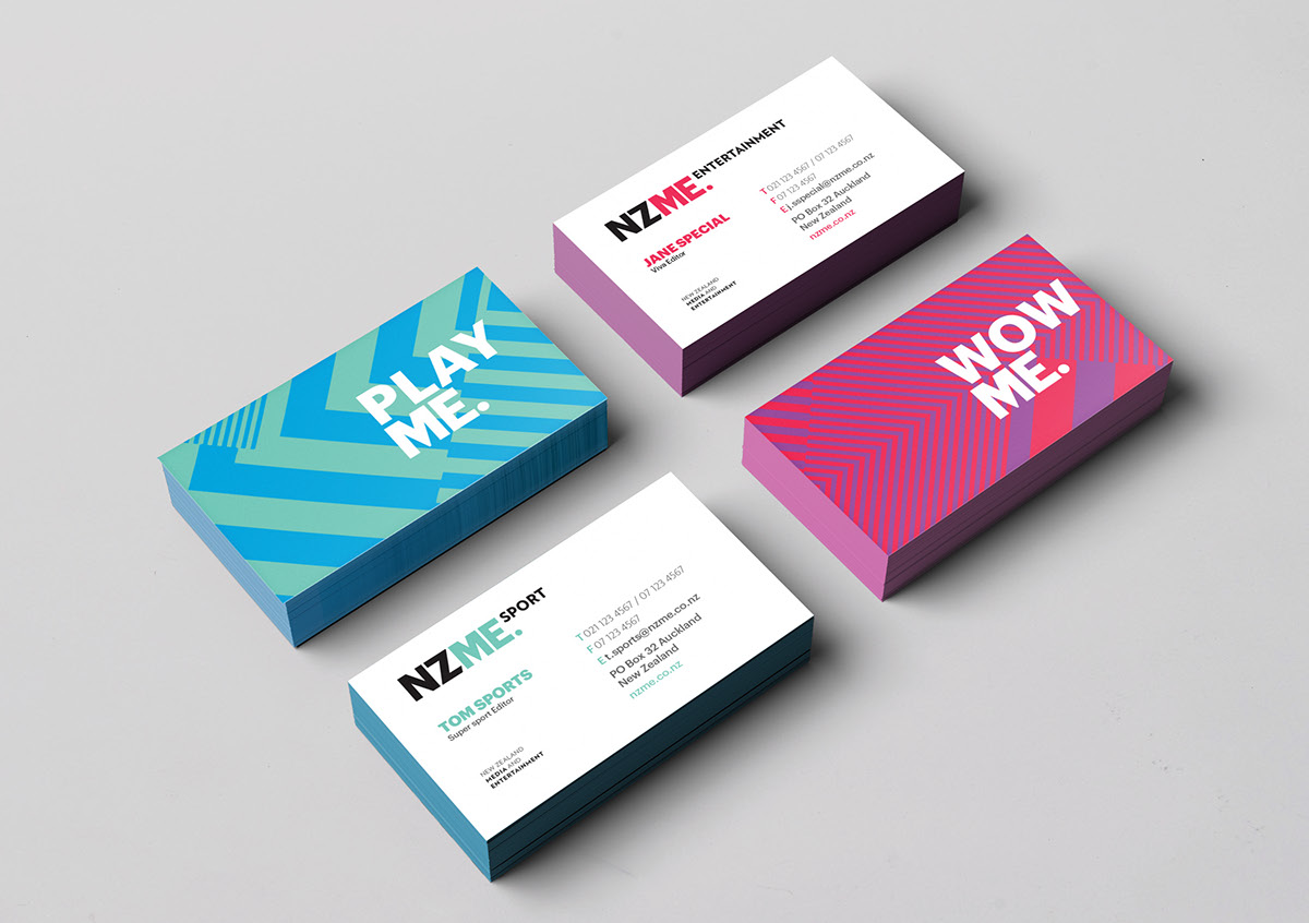 New Zealand Media & Entertainment Branding on Behance