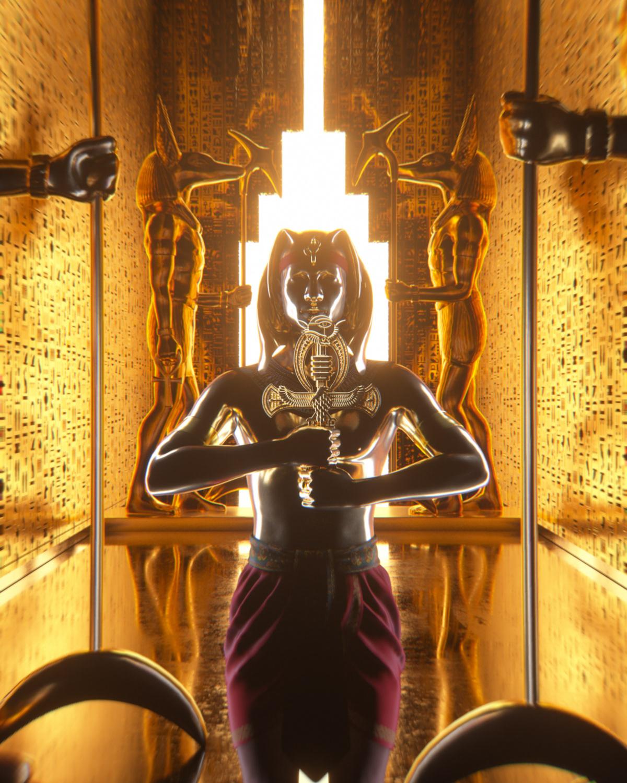 africa art artist Digital Art  egypt evolve evolvecollective Exhibition  ILLUSTRATION  mixed media