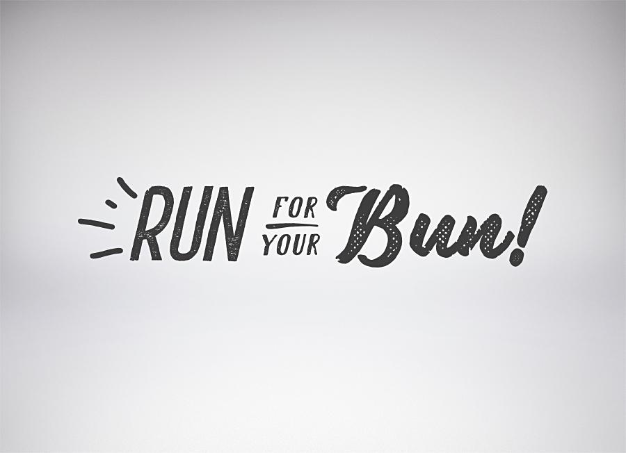 Run For Your Bun - David Lloyd Clubs on Behance