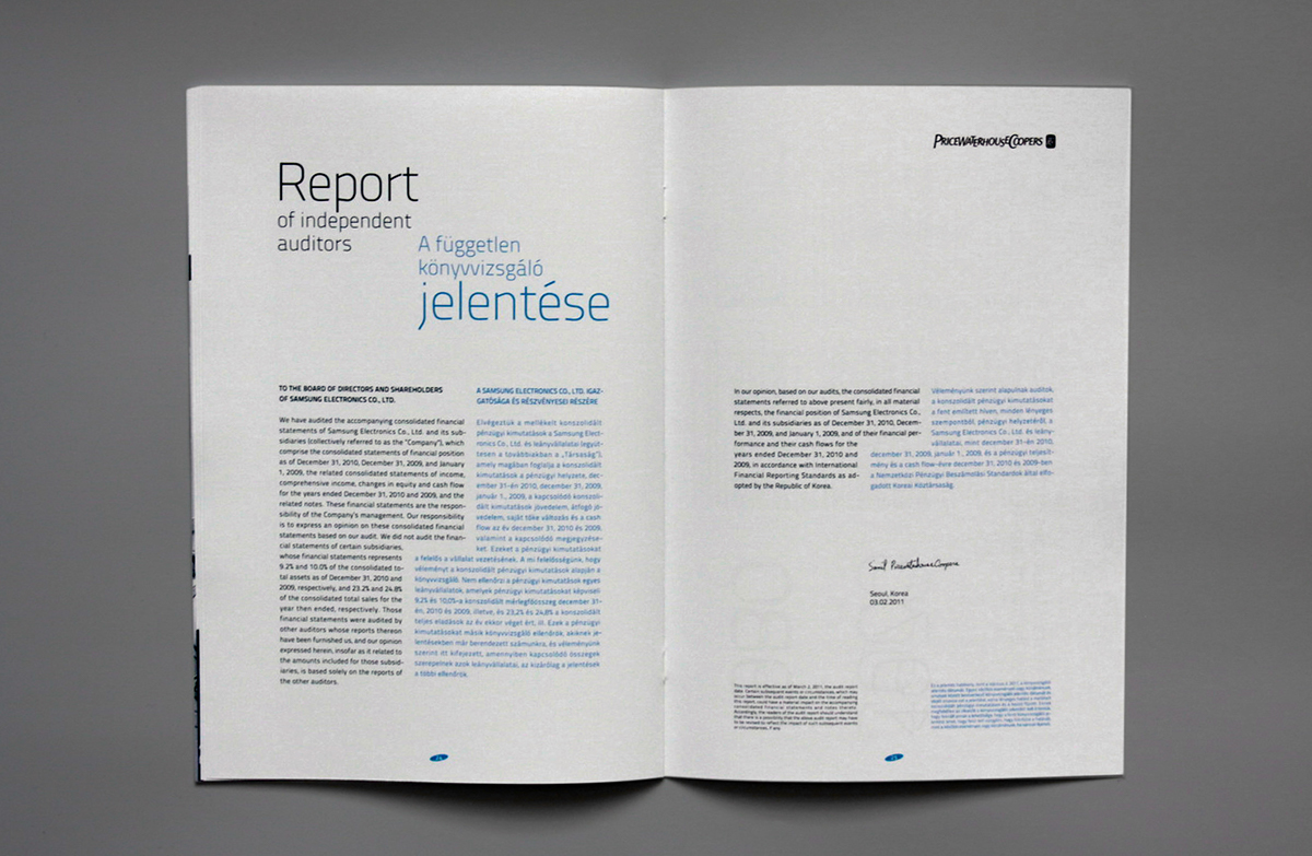 samsung annual report Join the nasdaq community today and get free here's a look at what the company's annual 10-k report shows investors amazon, facebook.