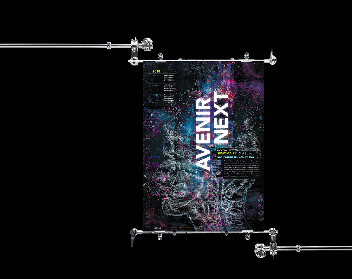 Avenir Next on AIGA Member Gallery