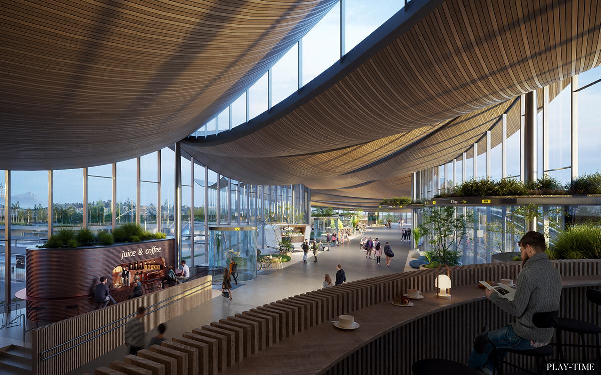 architecture archviz CGI Render Sweden