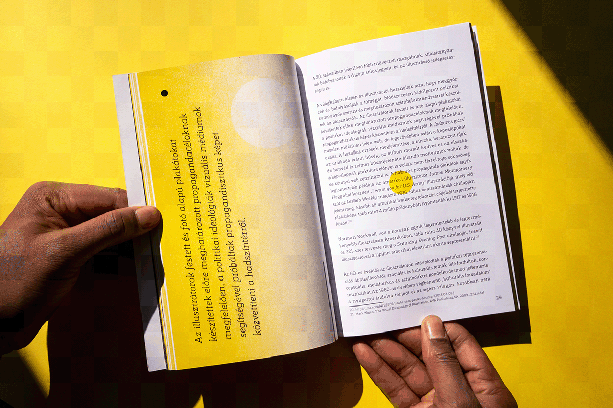 Image may contain: book, person and yellow