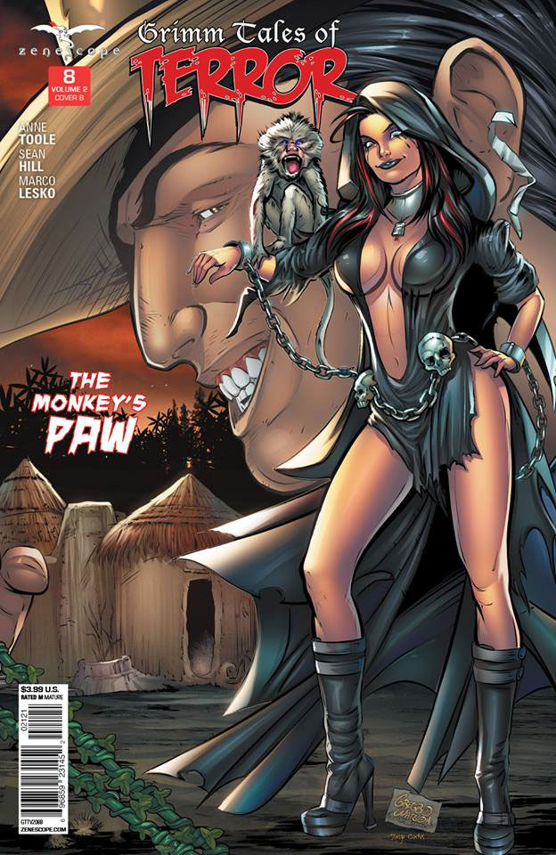 Grimm Tales of Terror #8 Cover Art on Behance