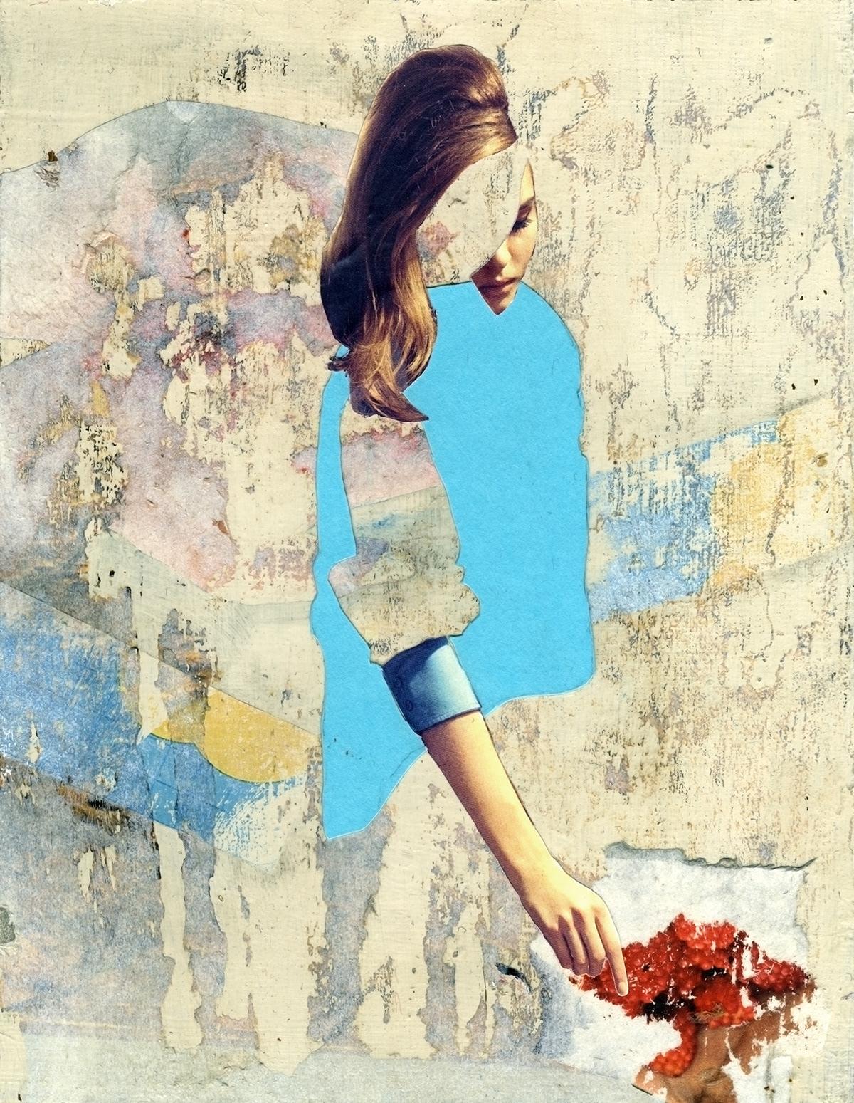 collage acrylics
