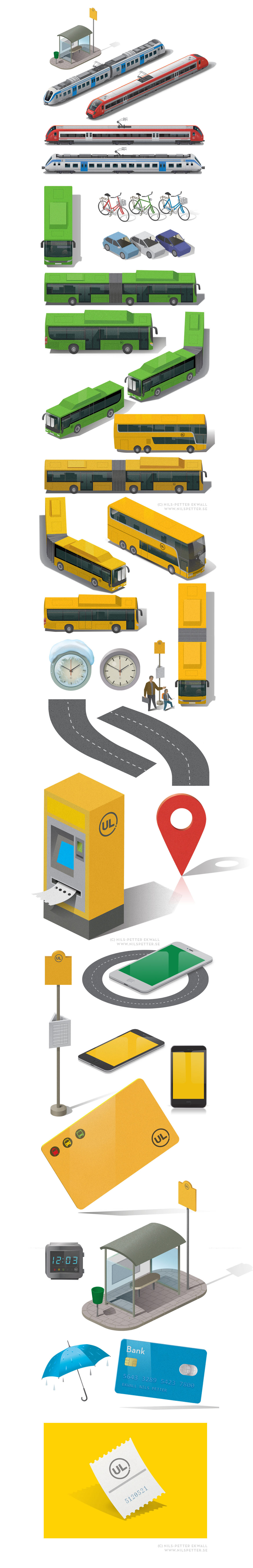 icons cityscape transportation vector Interface Web Travel Isometric graphic icon design