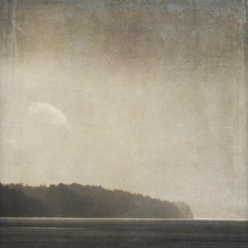 Sally Banfill beach photography Puget Sound Olalla seascape coastal photography minimalist zen sepia