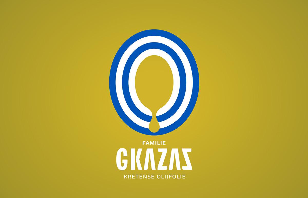Gkazas today utrecht identity packaging design oil in the family