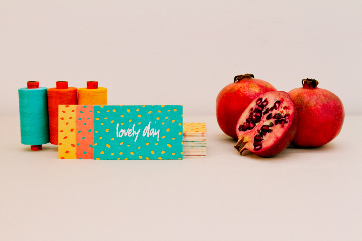 lovely day Business Cards pomegranate dragon Fruit adelaide Radelaide