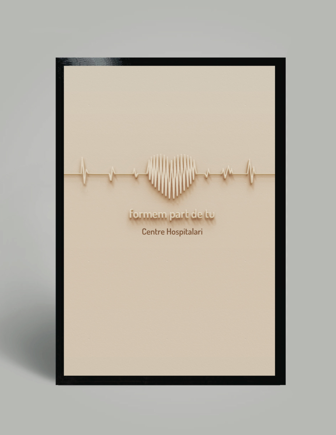 hospital heart logo design rediseño redesign brand dosis human body warm happy poster band aid visiting card