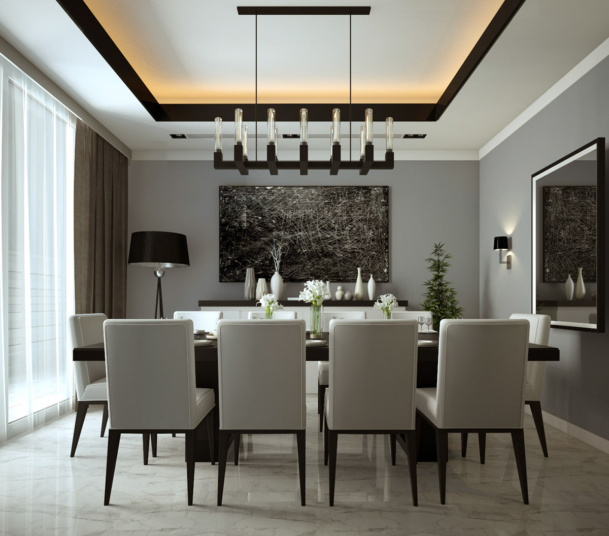 64 Modern Dining Room Ideas And Designs: Dining Room On Behance