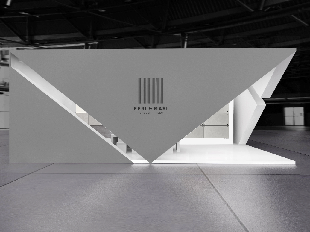 Exhibition Stand Design Website : Feri masi cersaie preview vs final result on behance