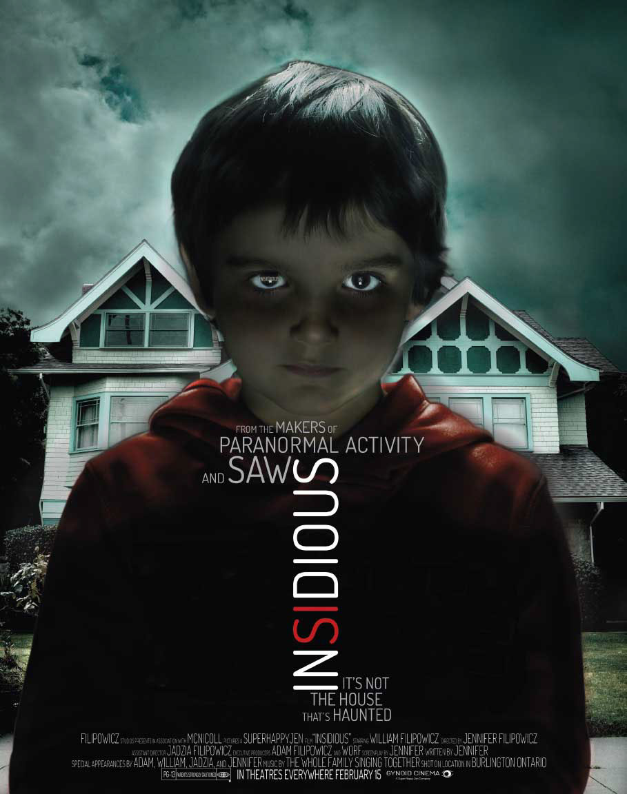 Insidious Movie Poster on Behance