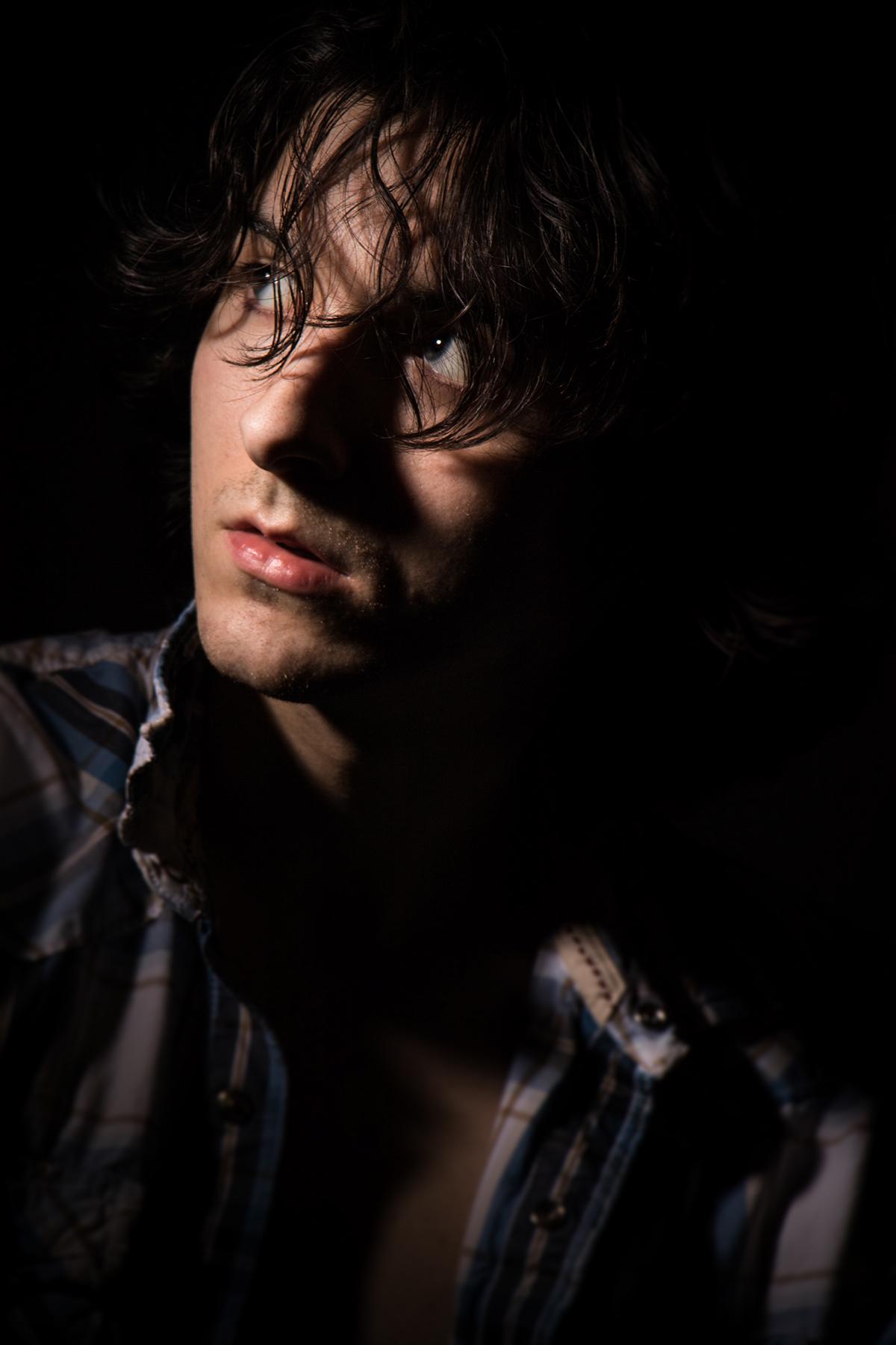 dramatic Photography  portrait selfportrait