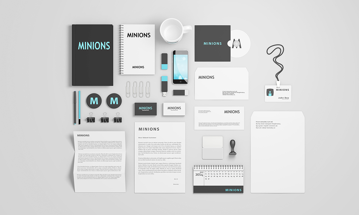 stationery psd mockups free psd on behance