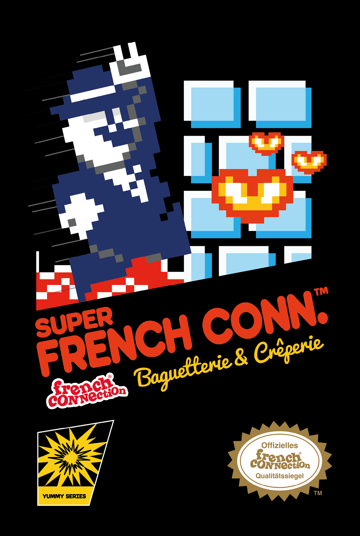 Pixel Art Vintage Super Mario Bros 1 Illustration On Behance