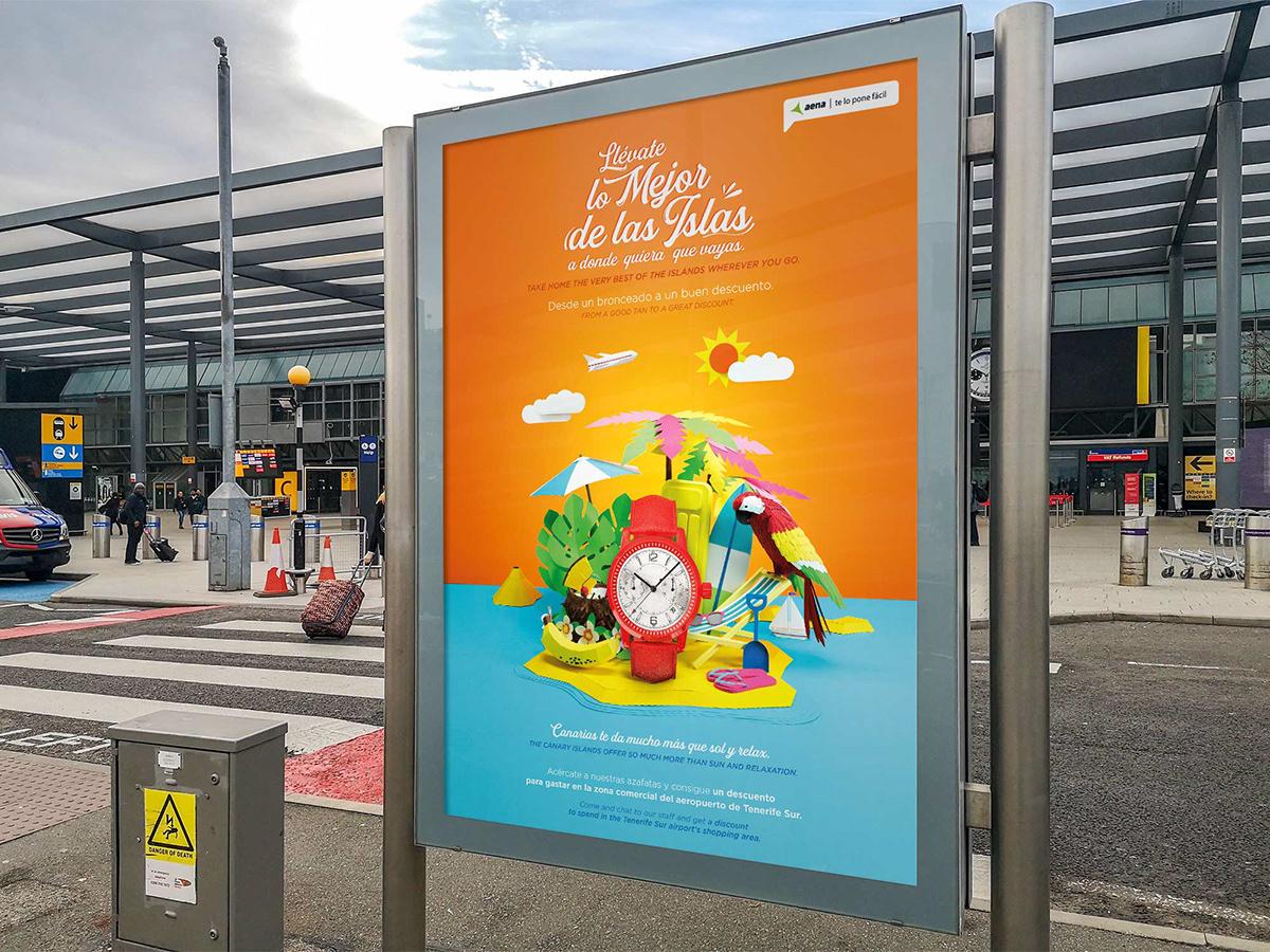 Image may contain: cartoon, billboard and poster