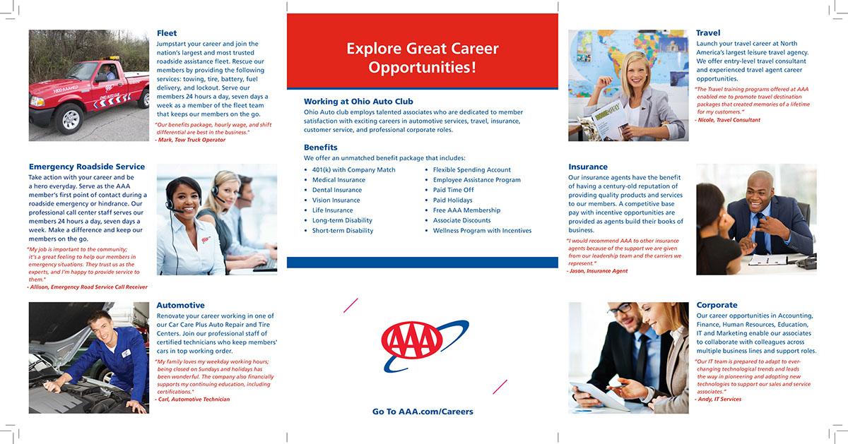 AAA Careers Brochure (2016) on Behance