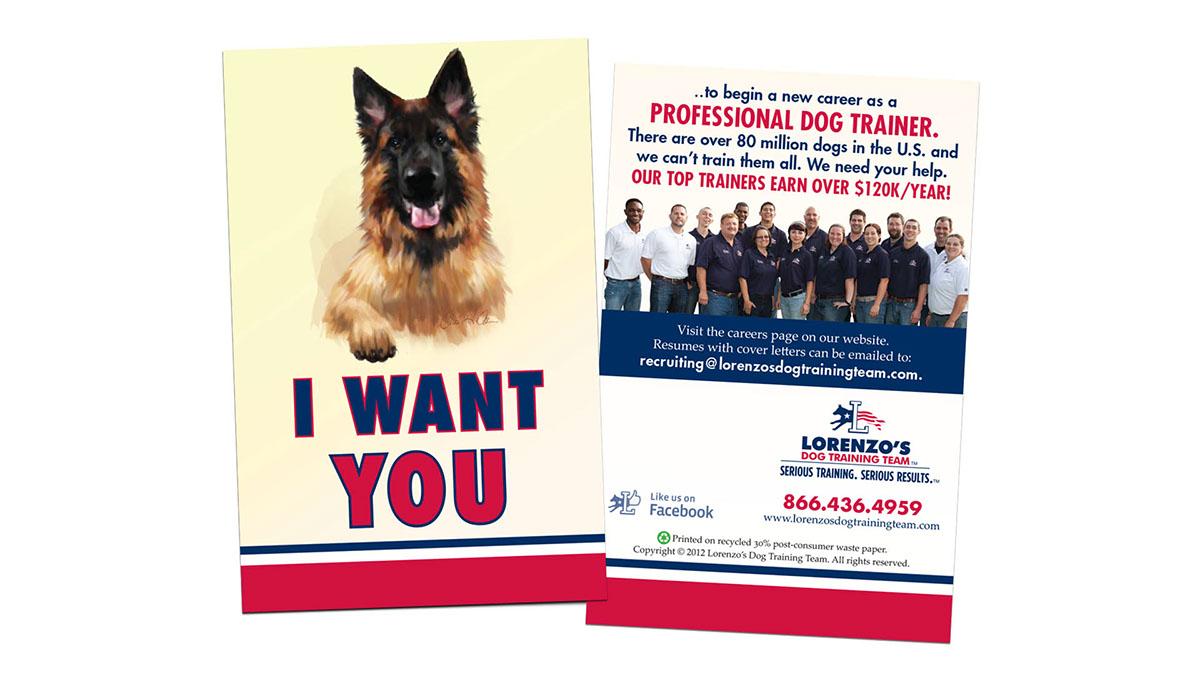 Lorenzo's Dog Training Team on Behance