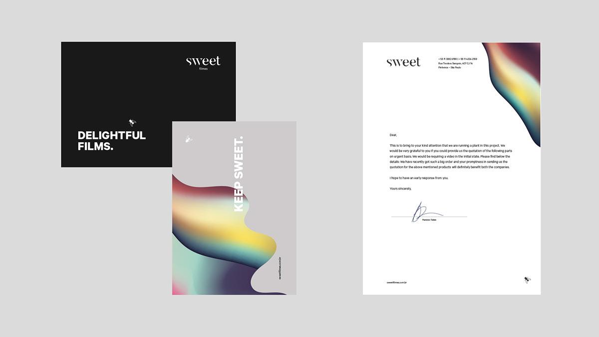 sweet branding  elvisbenicio organic color