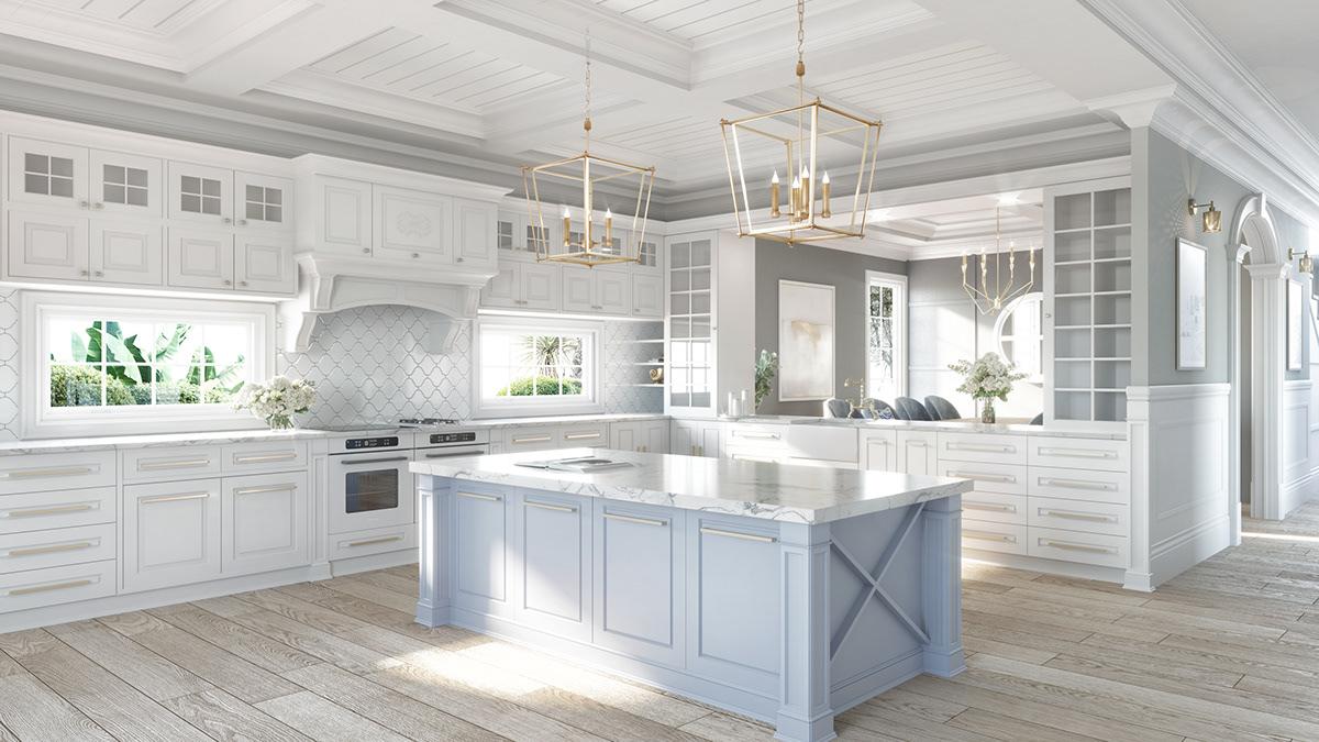 architecture coronarenderer exterior familyhome Hamptons hamptonshome hamptonsstyle homedesign Interior interioresign