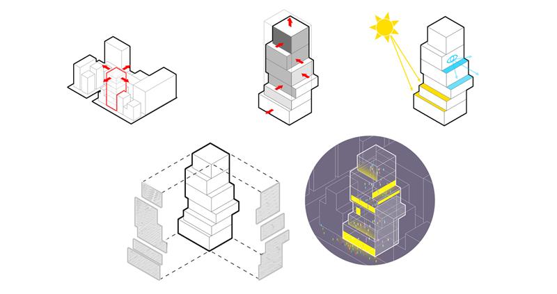 diagrams architectural diagram architectural illustration