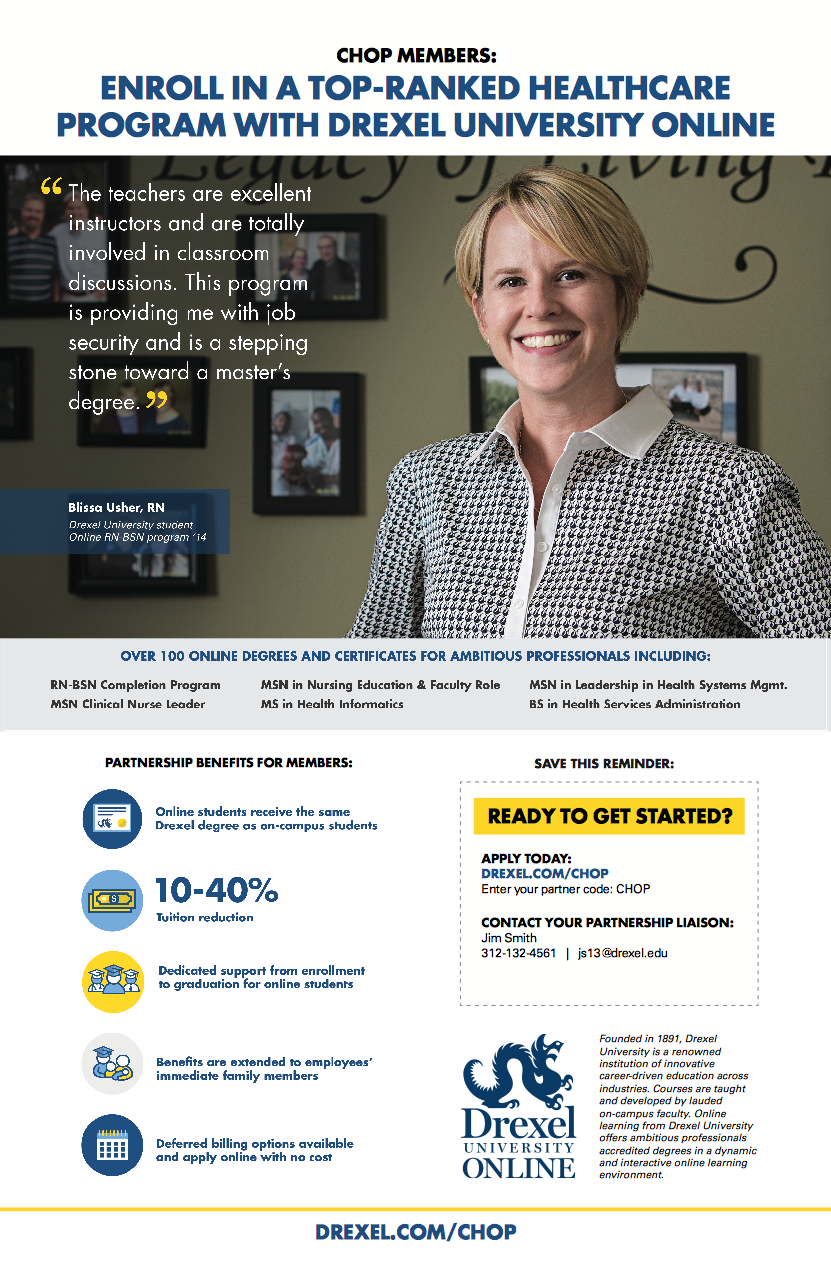 Drexel University Online What Our Students Say Posters on