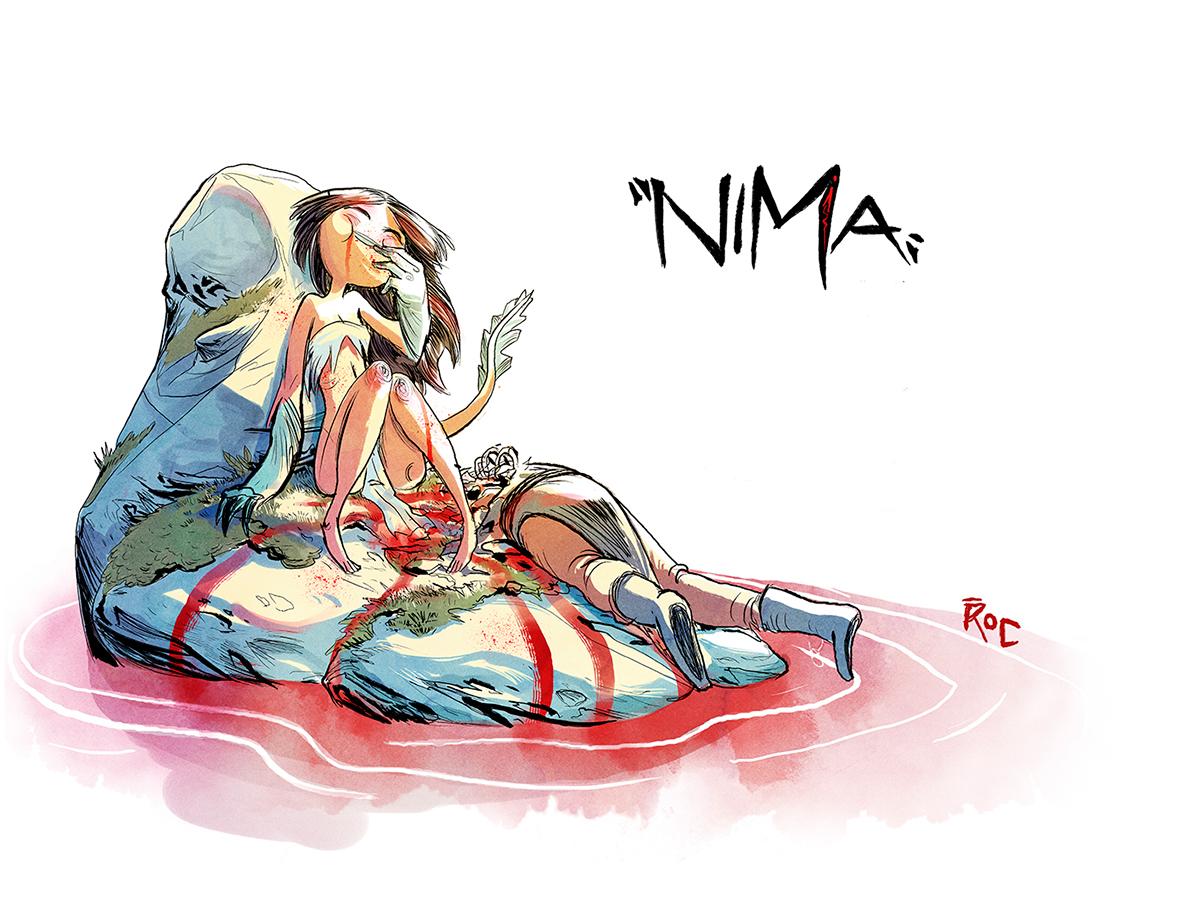 Nima ninfa enriquefernandez comic spaceman