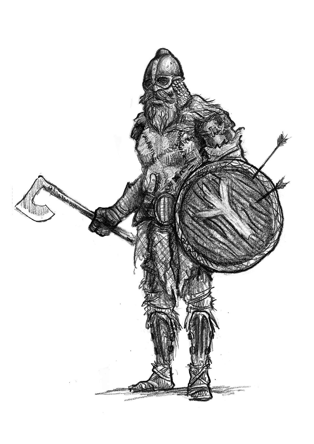 картинки викингов воинов в готическом стиле вот хоть убейте