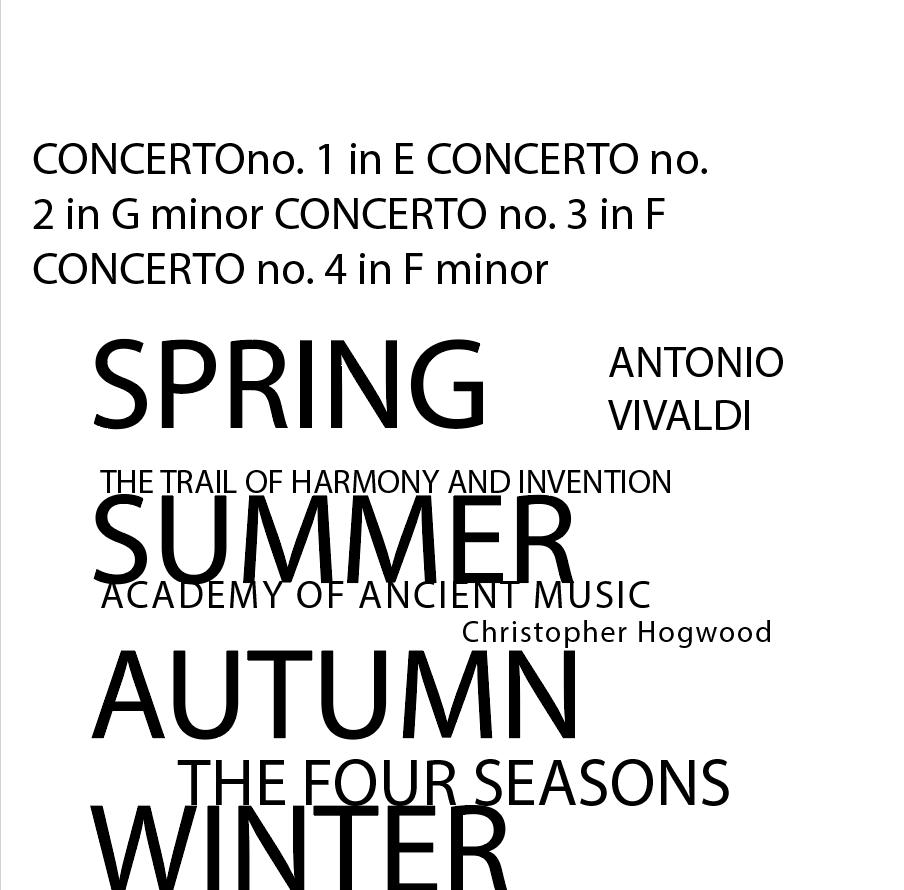 Antonio Vivaldi Typography on Behance