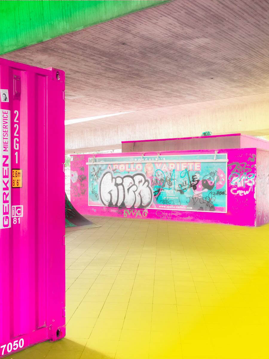 concrete blocks Photography  Digital Art  painting   photoshop architecture city Urban jungle