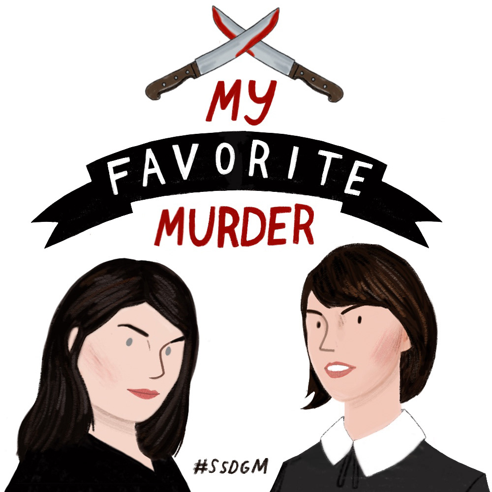 ade6d24ce My Favorite Murder Podcast Illustration on Behance
