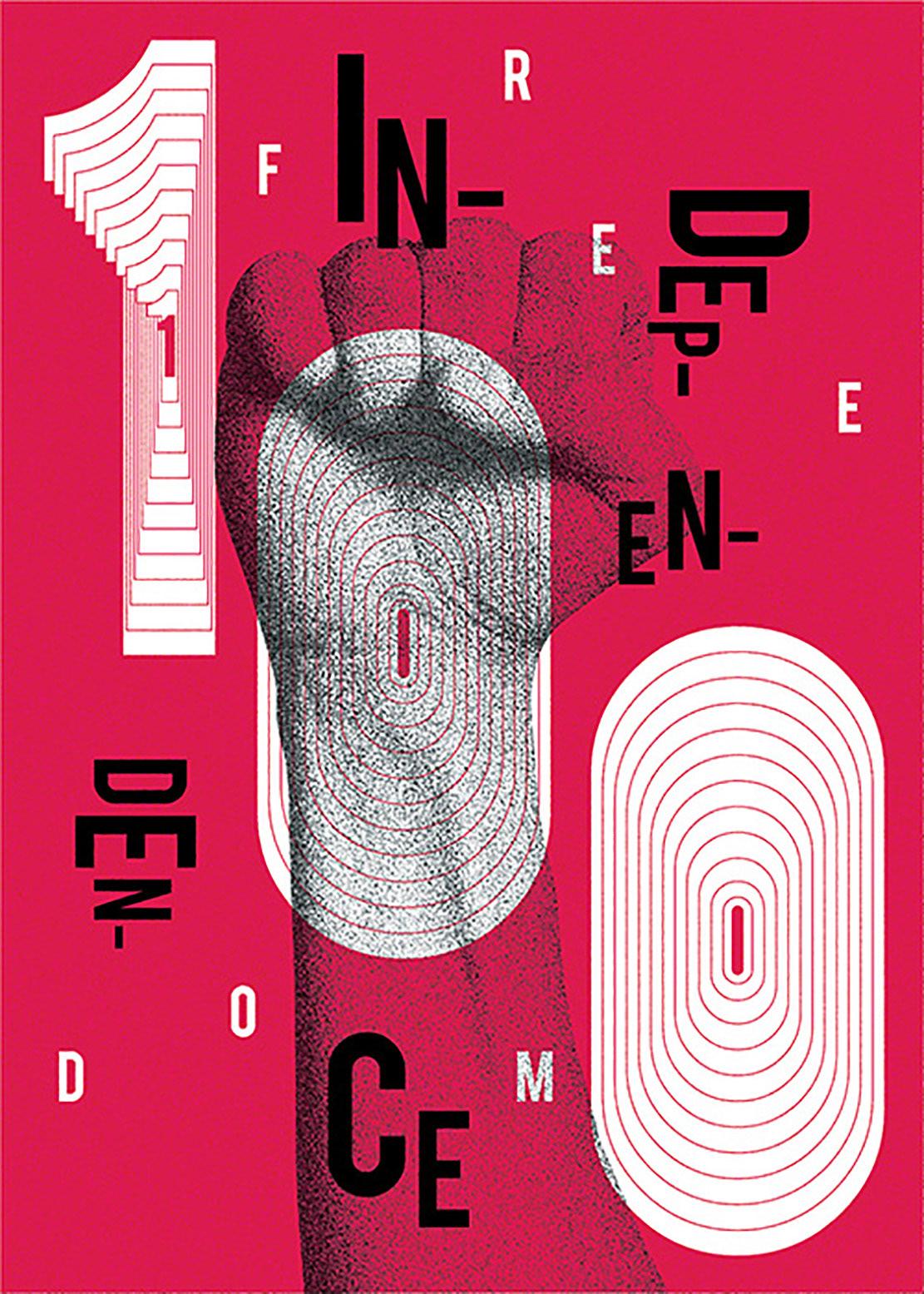 Independence freedom poland poster graphic design  hungary Ecuador