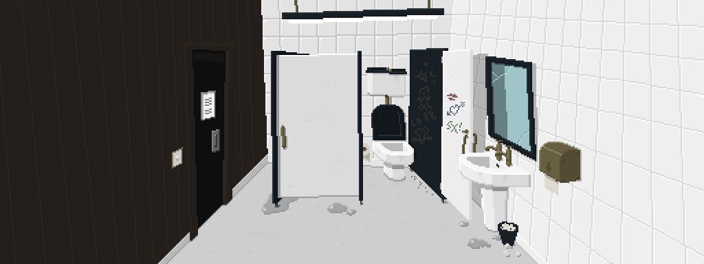 pixel art wc