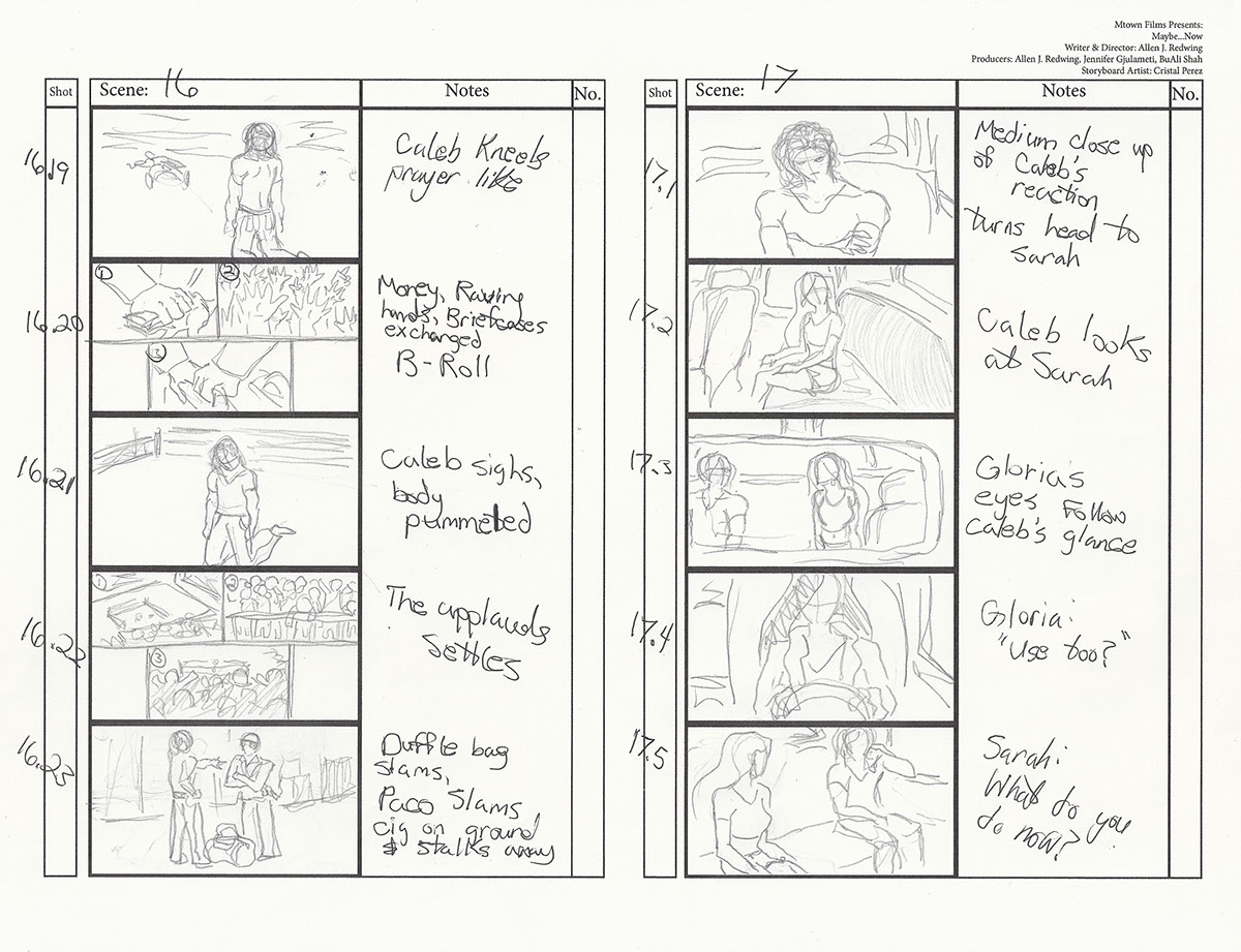 Storyboard Collection on Pantone Canvas Gallery